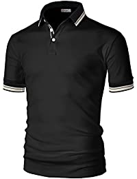 Mens Casual Slim Fit Short Sleeve Polo T-Shirts of and Styles