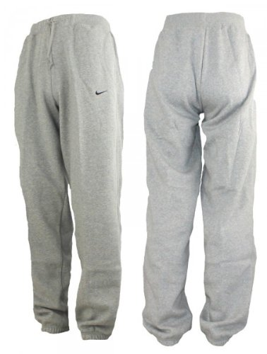 new style 37791 40d2b Nike Pantalon de jogging homme en molleton resserré aux chevilles Gris Gris  XL Amazon.fr Sports et Loisirs