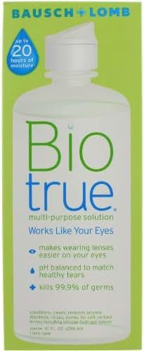 Biotrue Contact Lens Solution for Soft Contact Lenses Multi-Purpose 10 oz