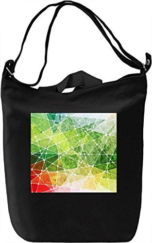 Colorful Pattern Borsa Giornaliera Canvas Canvas Day Bag| 100% Premium Cotton Canvas| DTG Printing|