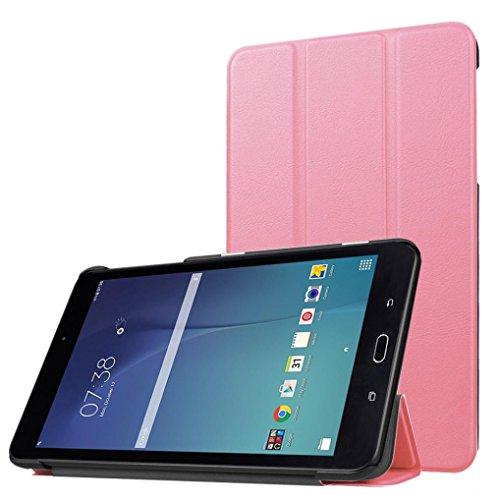 Super Slim Case for Samsung Galaxy Tab A 8-Inch Tablet SM-T350 (Pink) - 7