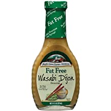 Maple Grove Farms Dressing Wasabi Dijon Fat Free 8.0 OZ (Pack of 3)