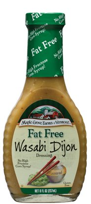 Vinaigrette Fat Free Dressing - Maple Grove Farms Dressing Wasabi Dijon Fat Free 8.0 OZ