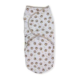 Summer Infant SwaddleMe Adjustable Infant Wrap, Monkey Business, Large (Discontinued by Manufacturer) (Discontinued by Manufacturer)