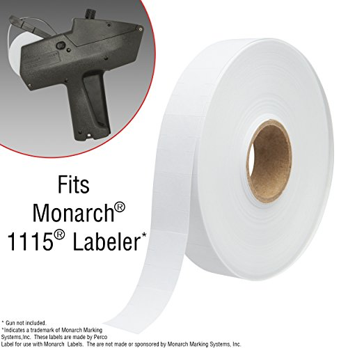 Monarch 1115 Price Gun with Labels Starter Kit: Includes Price Gun, 6,000 White Pricing Labels, Inker and Label Scrapper by Perco (Image #2)