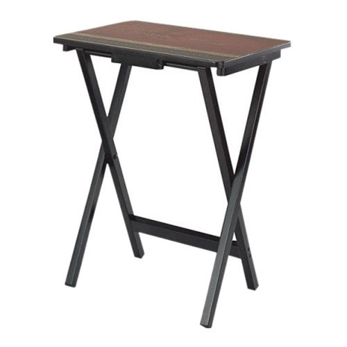 Cape Craftsman TV Tray Set with Stand