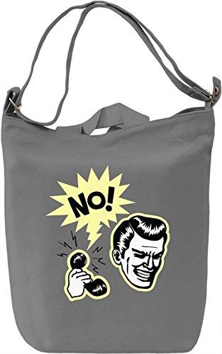 No Borsa Giornaliera Canvas Canvas Day Bag  100% Premium Cotton Canvas  DTG Printing 