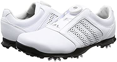 adidas Adipure Boa Chaussures de Golf Femme, Blanc (White