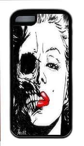 iPhone 5C Cases,Marilyn Monroe Skull New Design Case hjbrhga1544