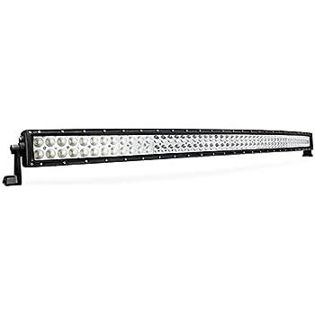 "Nilight 54"" 312W Curved LED Work Light Spot Flood Combo Led Light Bar Driving Light Fog Lamp OFF ROAD 4X4 Tundra Chevy,2 Years Warranty"