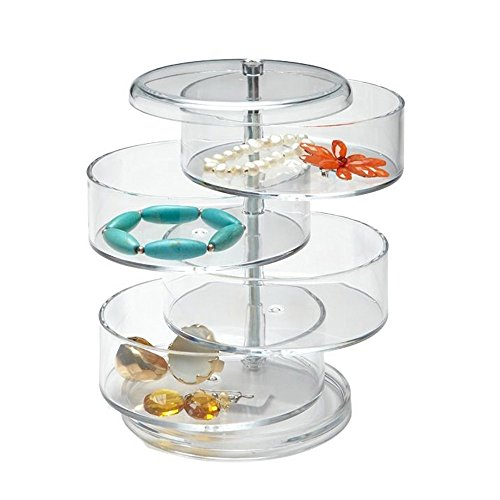 OnDisplay Sophia Jewelry/Cosmetic Storage Tower by OnDisplay