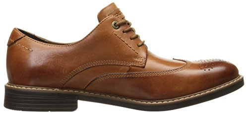 Mens Rockport Classic Wingtip Oxford In Pelle Cognac