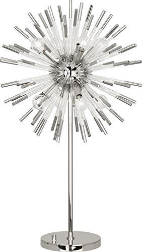 - Robert Abbey Andromeda Polished Nickel Sphere Table Lamp