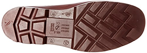 Red Dunlop Brick Shoes E452541 full Purofort Red Professional EH safety YwYrq7
