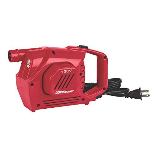 Coleman Electric Pump for Air Mattress | QuickPump Handheld 120 Volt Electric Pump for Inflating Air Beds (Renewed)