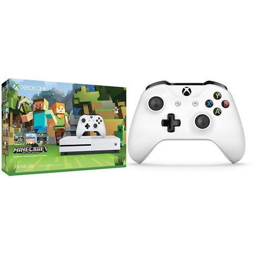 Console Xbox One S 500GB - Edição Minecraft