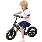 """PHAT™ Kids Balance Bike, 12"""" Wheels, Kids Bicycle for Ages 2 to 5"""