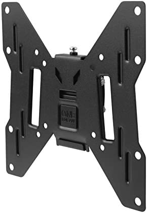"One For All WM2221, Soporte de pared para TV de 13 a 40"" Inclinable 15° Peso máx. 50kg, Para todo tipo de TVs LED, LCD, Plasma, negro: Amazon.es: Electrónica"
