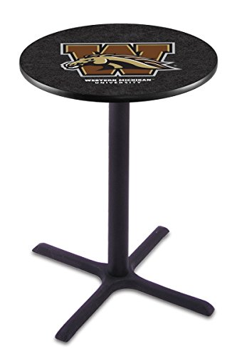Holland Bar Stool L211B Western Michigan University Officially Licensed Pub Table, 28