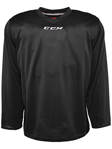 CCM 5000 Series Hockey Practice Jersey - Senior - Black, Large - Hockey Senior Team Practice Jersey