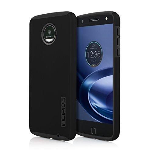 Incipio DualPro for Moto Z Droid (Sheridan) -Black/Black