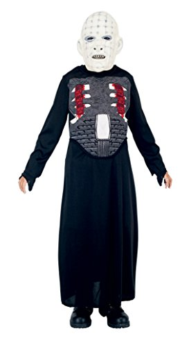 Pinhead Fancy Dress Costumes (Boys Pinhead Kids Child Fancy Dress Party Halloween Costume, M (7-8))