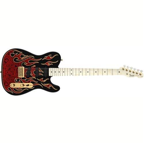 Fender James Burton Telecaster, Maple Fretboard - Red Paisle