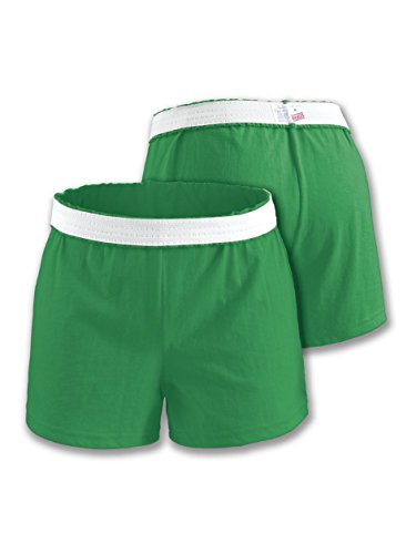 Soffe Juniors Athletic Shorts The Original Short, Kelly Green, Large