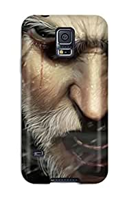 Flexible Tpu Back Case Cover For Galaxy S5 - Men