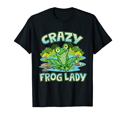 Crazy Frog Lady Lover Gift ()