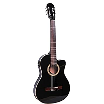 X-XIN Guitarra Eléctrica Caso Pulgada De Grosor De Barriles En El Reverso De La Spruce Música De Guitarra Guitarra Con Madera De Color: Amazon.es: ...