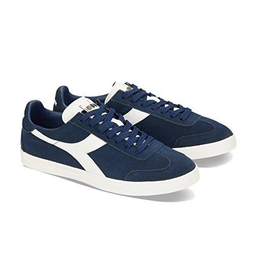 Denim bianco C2074 Sneaker Uomo Blu Original Vlz B Diadora xwqSW0ZBZ