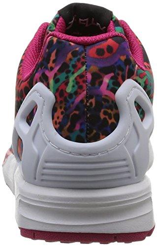 adidas ZX Flux - Zapatillas Unisex Niños Ftwwht/Ftwwht/Bopink