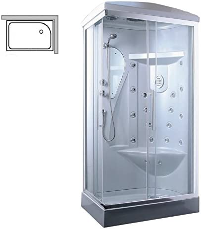 Box de ducha hidromasaje Tango, 70 x 90 cm o 70 x 110 cm: Amazon.es: Hogar