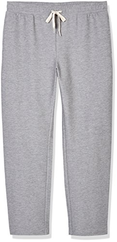 Good Brief Men's Denim-like Knit Twill Jogger Large Grey Heather