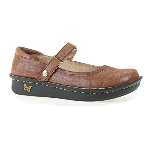 Alegria Womens Belle Mary Jane Flat Desert Essence h6k0FqbXZ