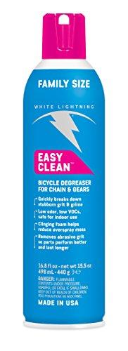 White Lightning Cleaner (White Lightning Easy Clean Bike Cleaner Aerosol, 6.35-Ounce)
