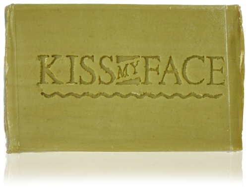 Kiss My Face Bar Soap, 4.0 oz, Pure Olive Oil, Fragrance Free - 1 ea