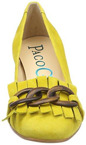 Fermé Paco P 3396 Borago Femme Jaune Bout Borago Gil Escarpins w44r65xqX