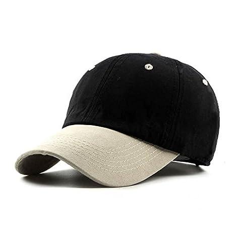 40c9fbac13e ALWLj New Two Color Patchwork Baseball Cap Snapback Casual Women Men Hat