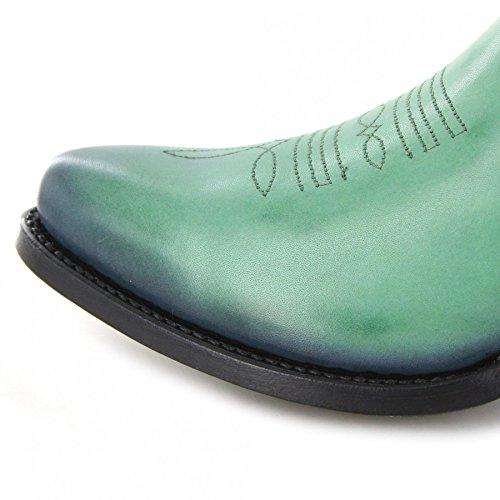 Fb Mode Laarzen Laarzen Mayura 2374 Verde Mode Enkellaars Voor Vrouwen Groene Mayura Laarzen Verde Groene Mode Diepe Lette Verde