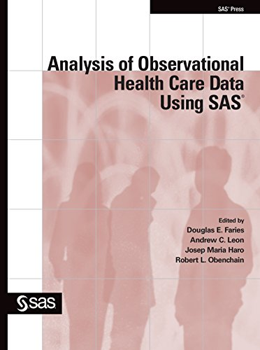 Download Analysis of Observational Health Care Data Using SAS Pdf