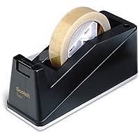 Scotch C10 Desk Tape Dispenser Gewogen Dispenser Holding Tape tot 25 mm breed en 66 m lang - Hervulbare Sticky Tape…