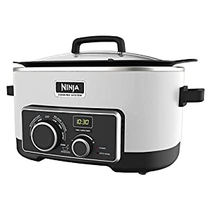 NINJA 4-in-1 Cooking System, 6 Qt (Certified Refurbished)