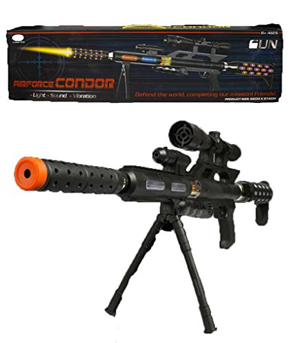 Fun Central Toy LED 34 inch Sniper Rifle