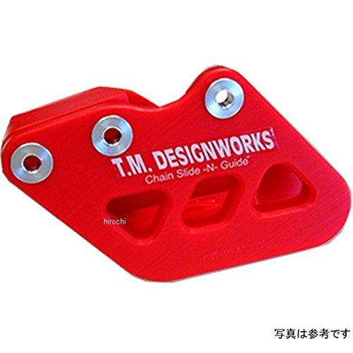 T.M デザインワークス T.M DESIGNWORKS チェーンガイド リア ファクトリーエディション1 01年-06年 WR250F 赤 971599 RCG-YSM-RD   B01NBC1FBG
