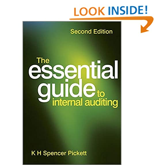 Internal auditing amazon the essential guide to internal auditing fandeluxe Gallery