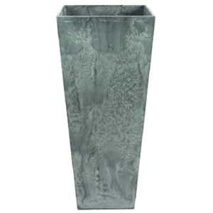 Prosperplast Edler Maceta Maceta columna Artstone de mármol verde H 900mm