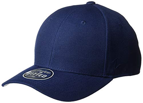 (Zephyr Mens DH Fitted Hat, Navy, 7 1/2)