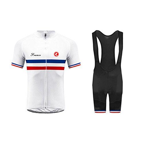 Uglyfrog Cycling Jersey Men Bike Clothing Road Bicycle Shirts Shorts Set -